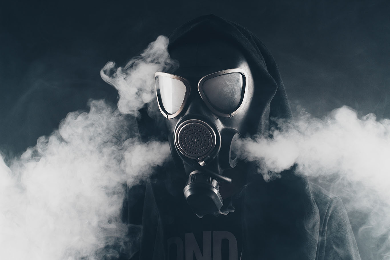 Gas Mask Clouds